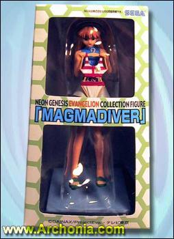 Evangelion PVC Figure - Magma diver collection Asuka