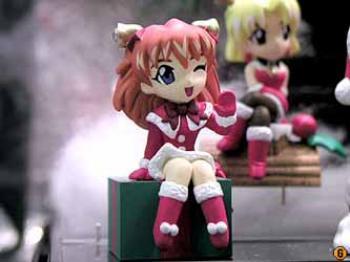 Evangelion Xmas Mini display figure - B Asuka