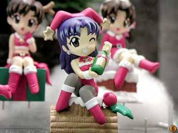 Evangelion Xmas Mini display figure - C Misato