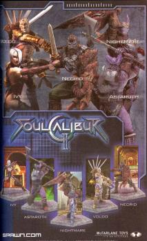 Soul caliber action figure Series II - Ivy
