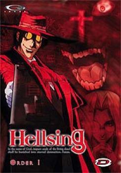 Hellsing vol 01 DVD PAL NL/FR
