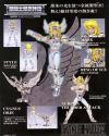 Saint Seiya Saint Cross Maisu Serie Cygnus Diecast Full Action Figure