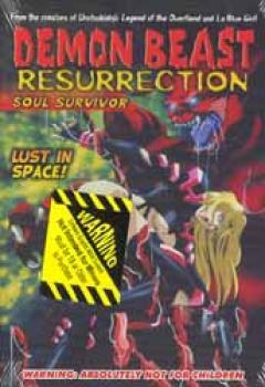 Demon beast ressurection 3&4 Soul survivor DVD