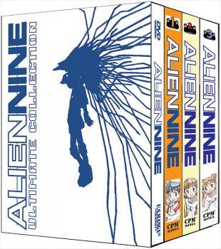 Alien Nine Ultimate DVD & GN collection