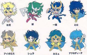Saint Seiya pin collection 2 random pin