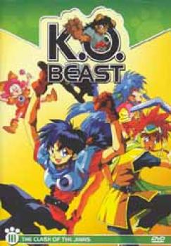 KO Beast vol 3 Clash of the Jinns DVD