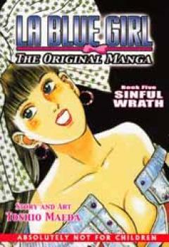La blue girl Manga edition book 05 Sinful wrath