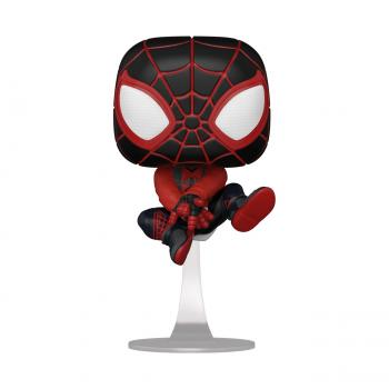 Miles Morales Spider-Man PS Pop Vinyl Figure - Spider-Man (Bogeda Cat Suit)
