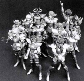 HG Capsule toys Series Knight of the zodiac / Saint Seiya Special