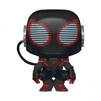 Miles Morales Spider-Man PS Pop Vinyl Figure - Spider-Man (2020 Suit)