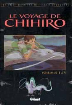 Le voyage de Chihiro anime comic 01-05 box