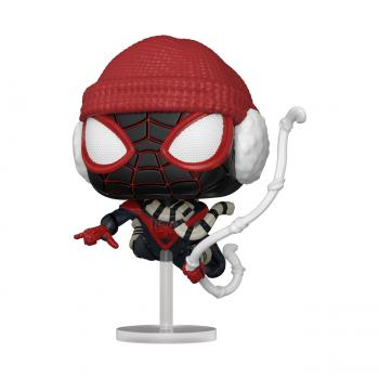 Miles Morales Spider-Man PS Pop Vinyl Figure - Spider-Man (Winter Gear)