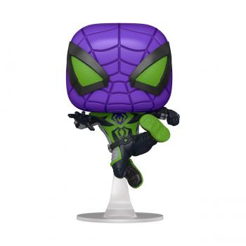 Miles Morales Spider-Man PS Pop Vinyl Figure - Spider-Man (Purple Rain)