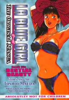 La blue girl Manga edition book 06 Bestial beauty