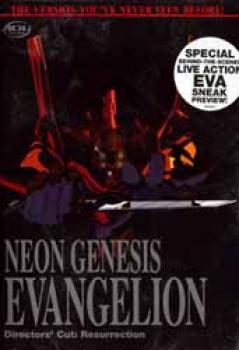 Neon Genesis Evangelion vol 01 Directors cut DVD