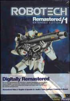 Robotech Remastered vol 01 Extended edition DVD