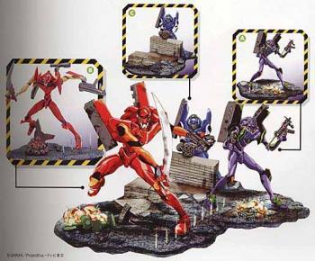 Evangelion EX Vinet Collection Figure C