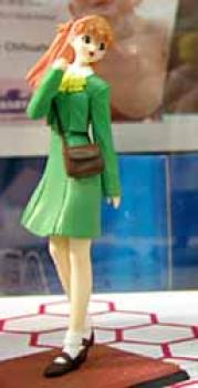 Evangelion Collection Figure B - Asuka in green dress