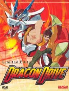 Dragon drive vol 01 Awakening DVD with Limited edition artbox