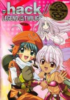 Dot Hack Legend of the twilight Bracelet vol 01 Limited edition DVD