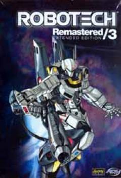 Robotech Remastered vol 03 DVD
