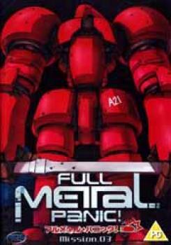 Full metal panic vol 03 DVD PAL UK