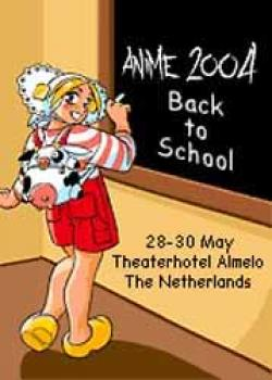 Anime 2004 Festival Ticket and badge document - Saturday only ticket