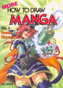 More how to draw manga English edition vol 02 Penning Characters