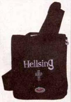 Hellsing Logo black Tech bag