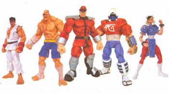 Street fighter 15th anniversary Action figure Assortment (12 figures)