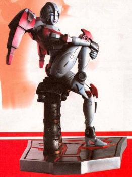Transformers Deluxe Arcee polystone statue
