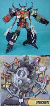 Super Link Transformer UNICRON Black Version Limited Version