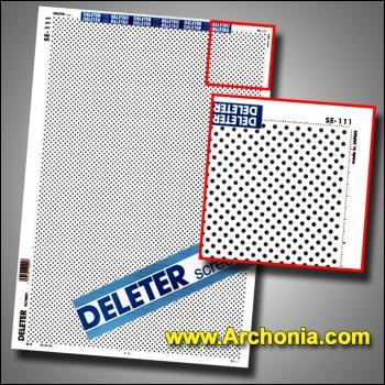 Deleter screen SE-111