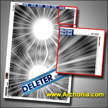 Deleter screen SE-520