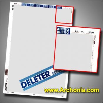 Deleter screen SE-091