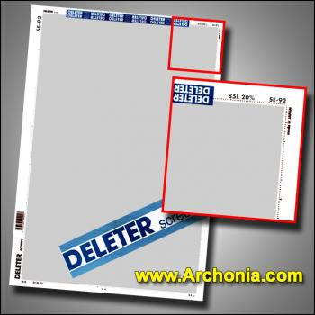 Deleter screen SE-092