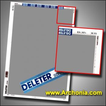 Deleter screen SE-095