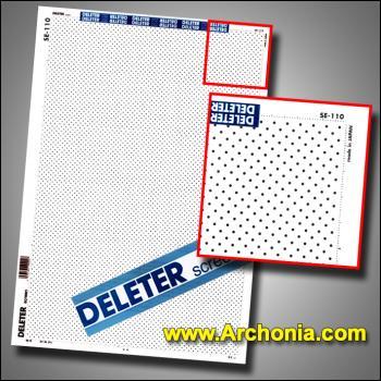 Deleter screen SE-110