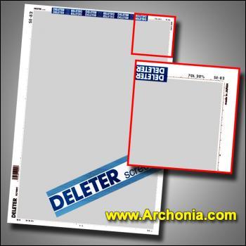 Deleter screen SE-082