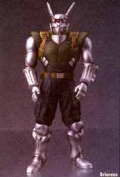 Appleseed the movie Action figure Briareos