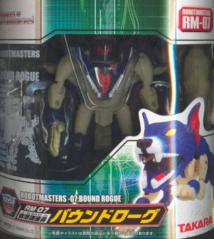 Robot master Transformer RM-07 Bound rogue