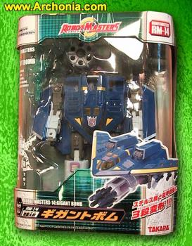 Robot master Transformer RM-14 Dreadwing