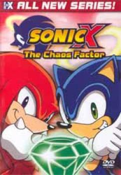 Sonic X vol 02 The Chaos Factor DVD