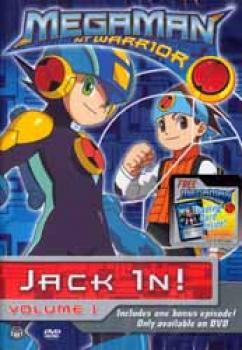 Megaman NT warrior vol 01 Jack in ! DVD