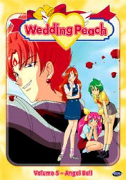 Wedding peach vol 05 Angel bell DVD