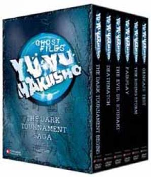 Yu yu Hakusho vol 02 Dark tournament saga part 1 DVD box set