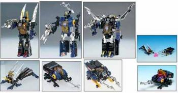 Transformers re-issue 16 Insecticons