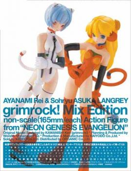 Wonder show case Evangelion Ayanami Rei & Asuka Langley Action figure set US