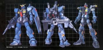 Perfect grade Series GUNDAM Model Kit RX-178 MK-II Titans