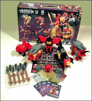 Transformers re-issue Predaking gift set